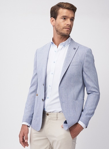 Altınyıldız Classics Ceket Mavi